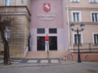 budynek - płótno